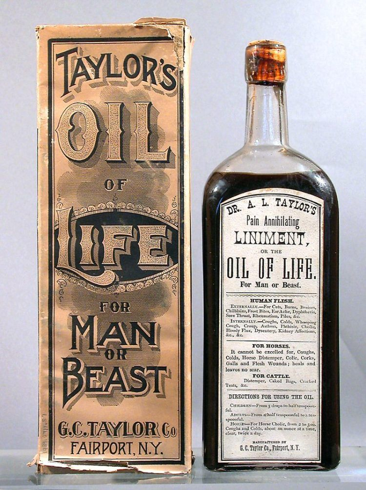 Taylors Oil of Life for Man or Beast c1900 750x1005 1
