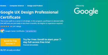از گواهینامه UX گوگل جا نمانید! فرصت یادگیری و کسب موقعیت شغلی در امریکا