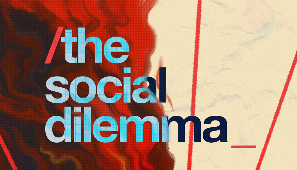 پوستر فیلم مستند معضل اجتماعی The Social Dilemma ۲۰۲۰
