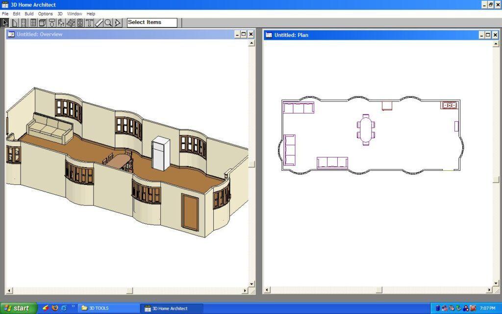 نرم افزار قدیمی 3d home