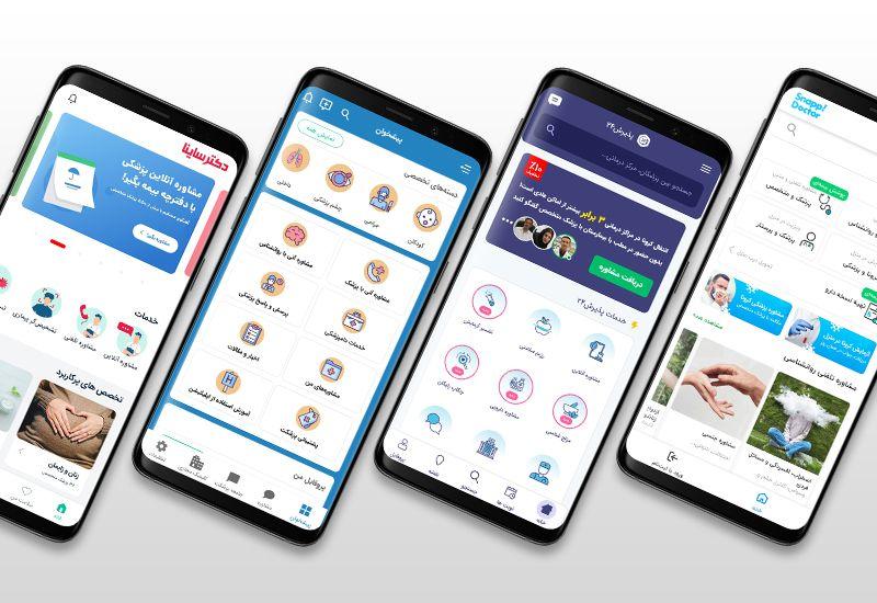 تحلیل کارکرد متن تجربه کاربر در اپلیکیشنهای خدمات آنلاین پزشکی بر اساس تست کاربردپذیری تستادی